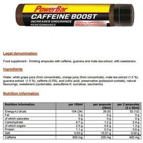 PowerBar Caffeeine Boost Ampulle 25ml Geschmacksneutral